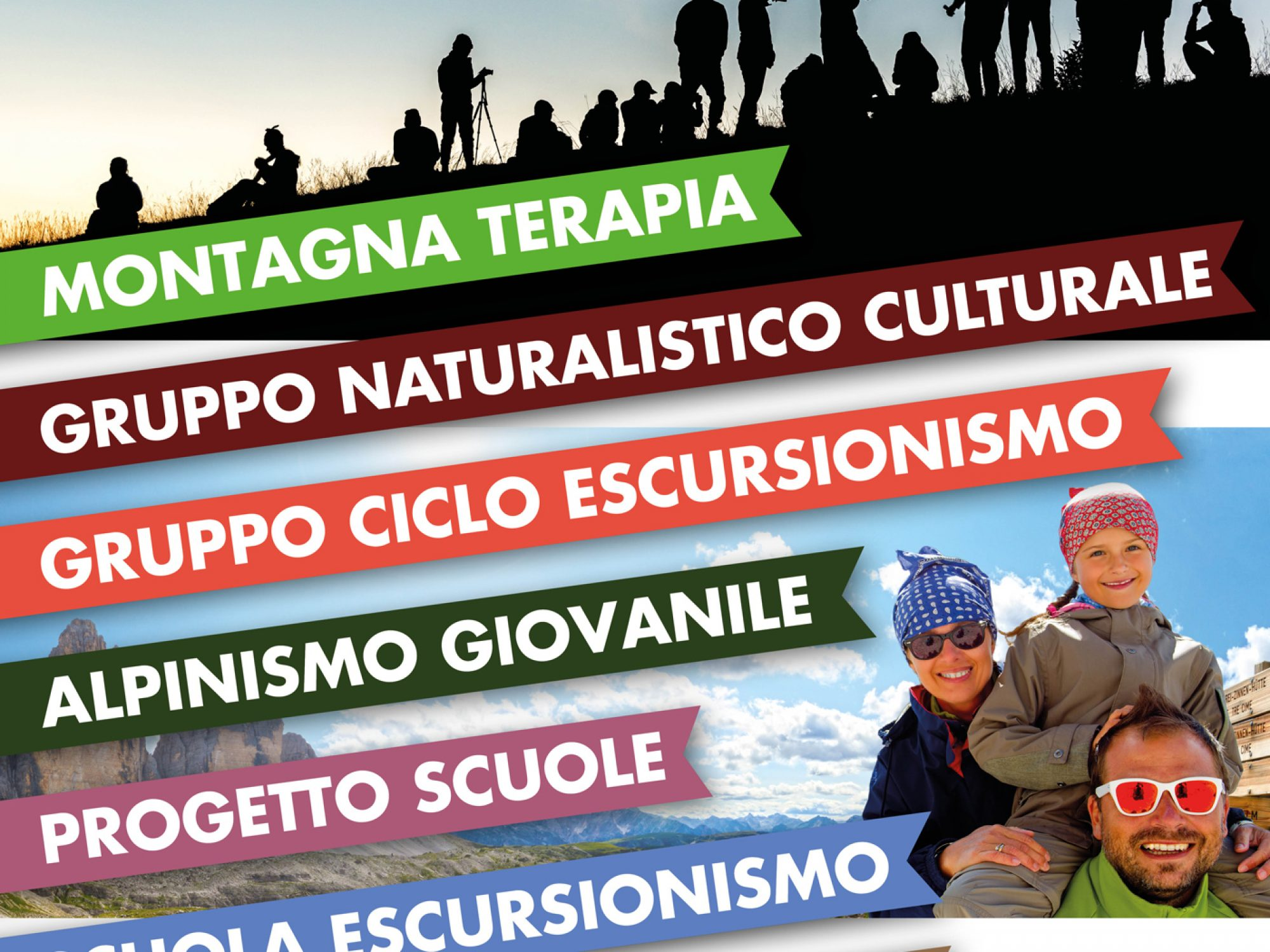 Signage for the Italian Alpine Club