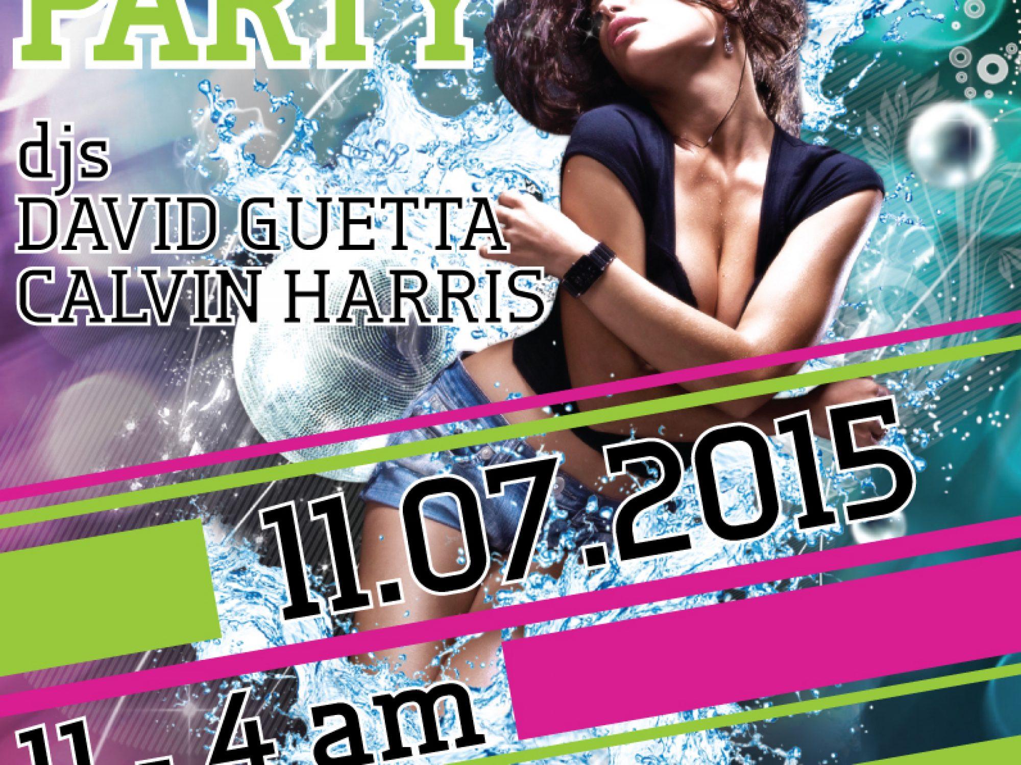 Flyer for Nightclub
