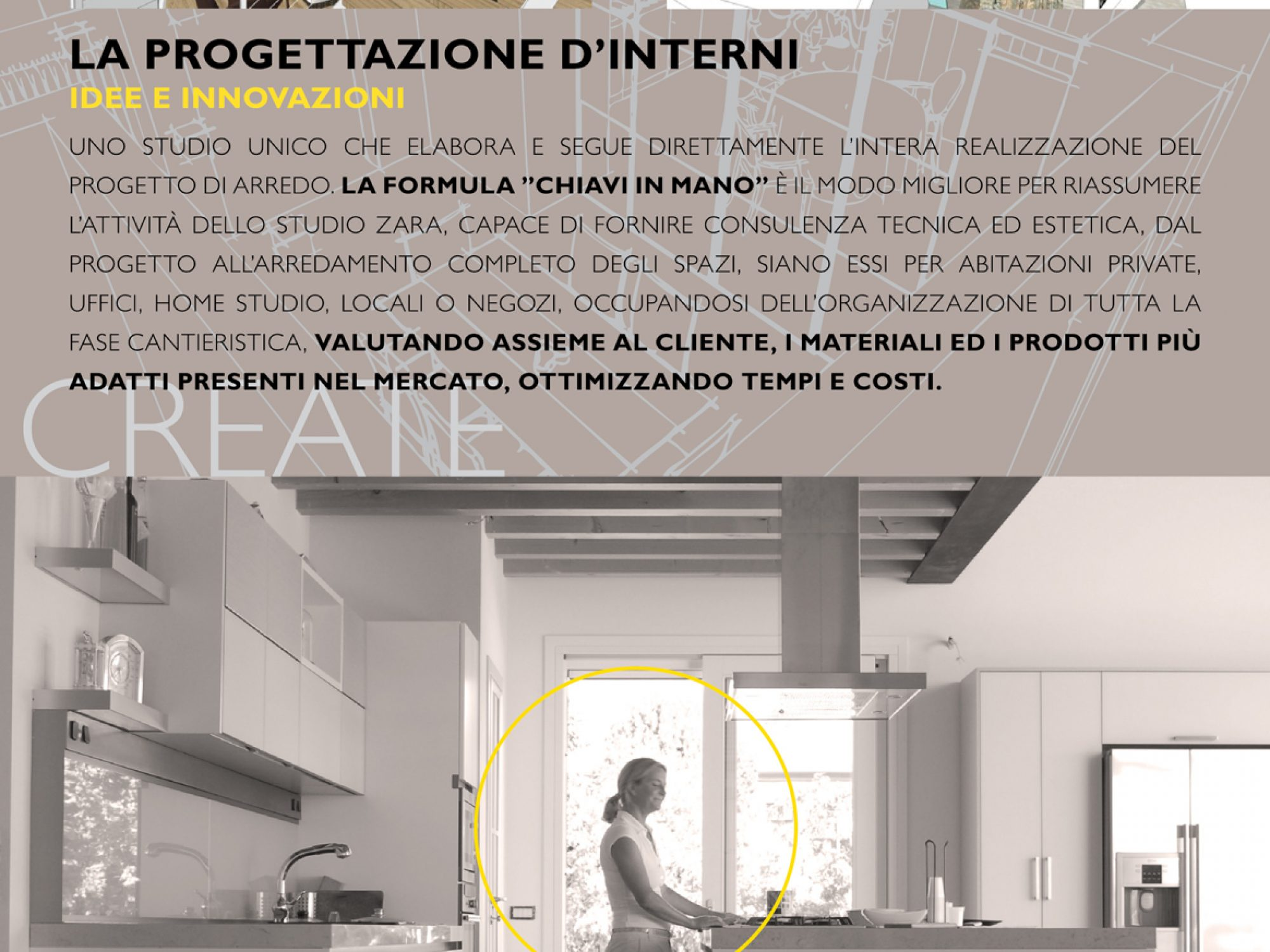 Brochure for Architect