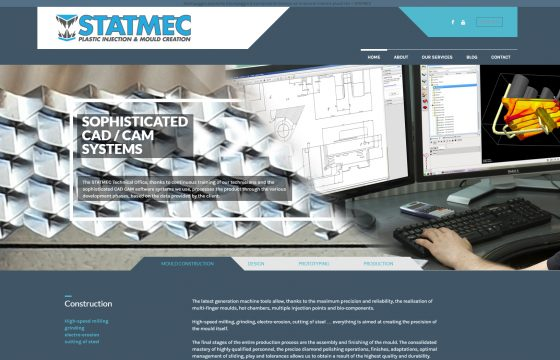 New web site and logo for Statmec